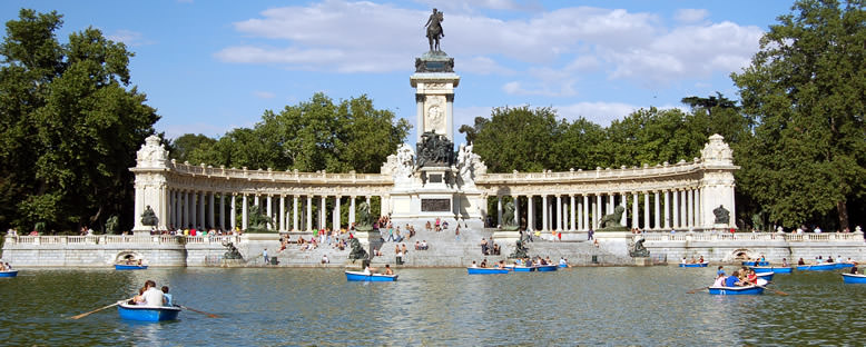 Retiro Parkı - Madrid