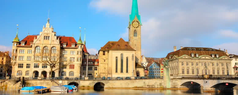 Fraumünster Katedrali - Zürih