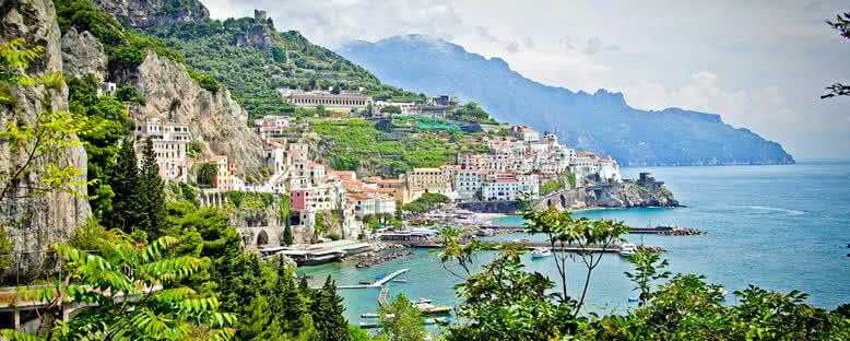 Şehir Manzarası - Amalfi