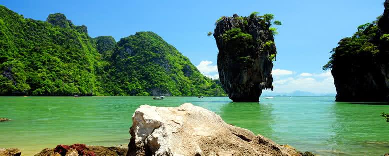 James Bond Adası Kayalıkları - Phuket