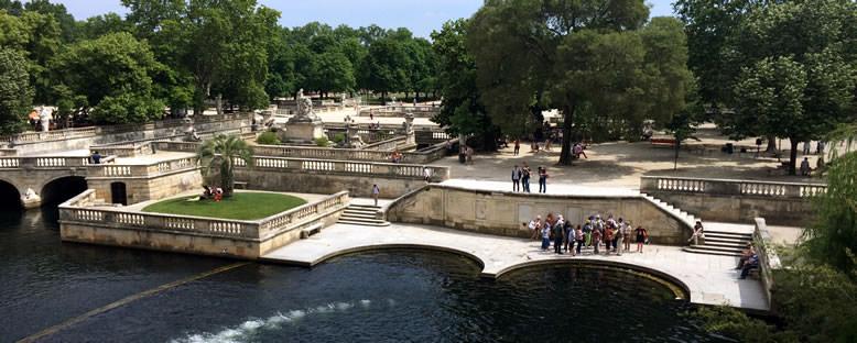 Jardin de la Fontaine - Nimes