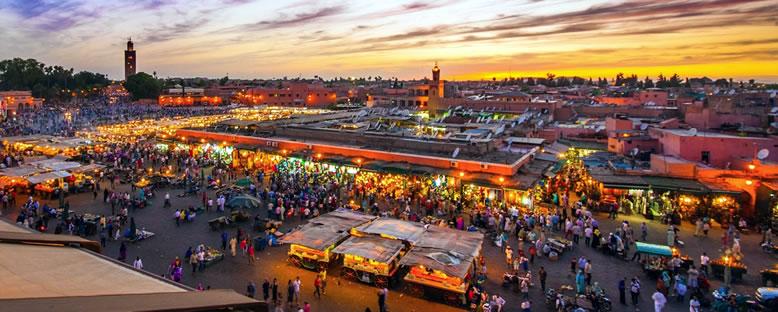 Jemaa el Fna Meydanı - Marakeş