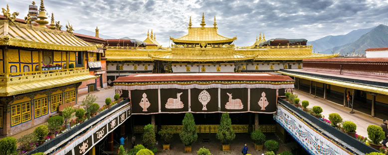 Jokhang Tapınağı - Lhasa