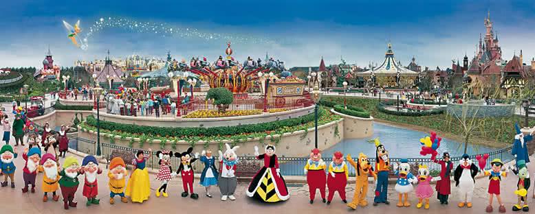 Kahramanlar Geçidi - Disneyland