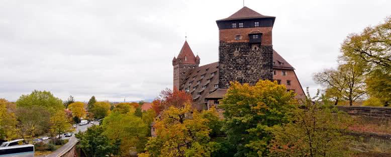 Kaiserburg Şatosu - Nürnberg