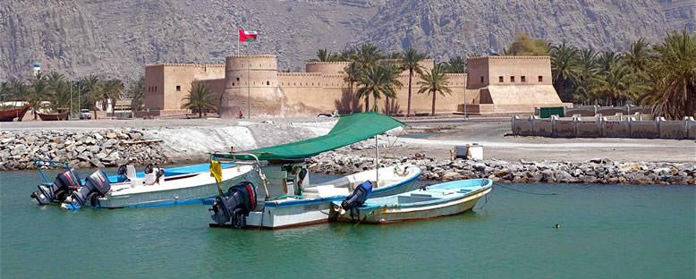 Kale Manzarası - Khasab