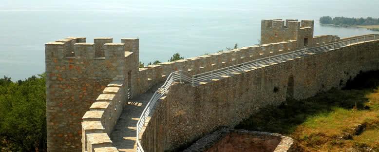 Kale Surları - Ohrid