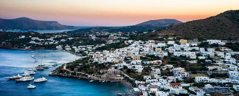 Kaleden Ada Manzarası - Leros