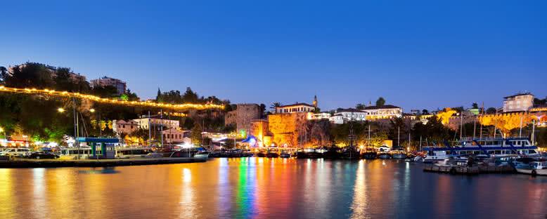 Kaleiçi Akşam Manzarası - Antalya