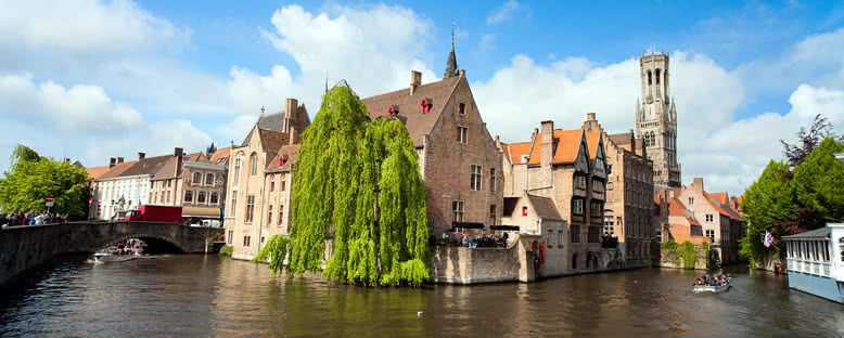 Kanal ve Belfry Kulesi - Brugge