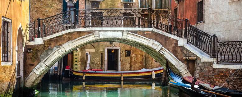 Kanal ve Köprü - Venedik