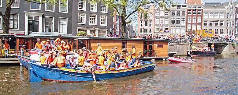 Kanalda Eğlence - Amsterdam