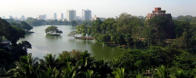 Kandawgyi Gölü - Yangon