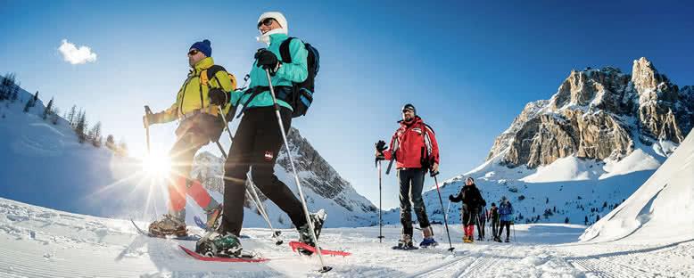Kar Yürüyüşü - Cortina d'Ampezzo