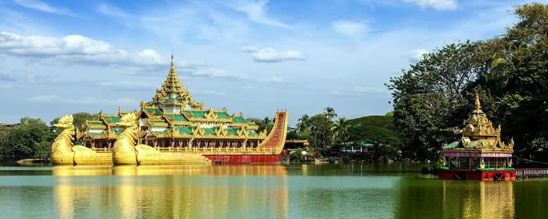 Karaweik Sarayı - Yangon