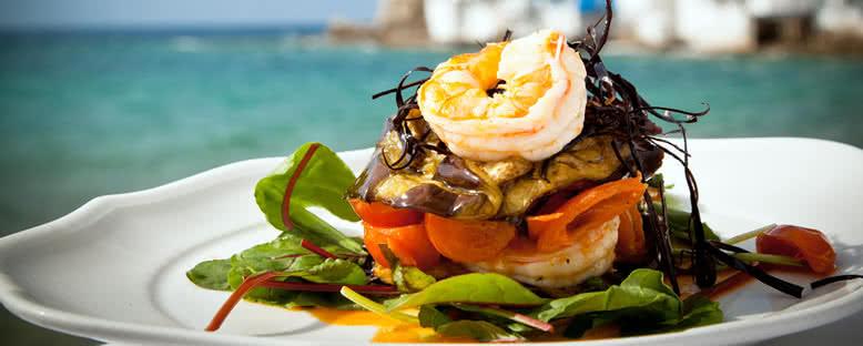 Karides Salatası - Mykonos