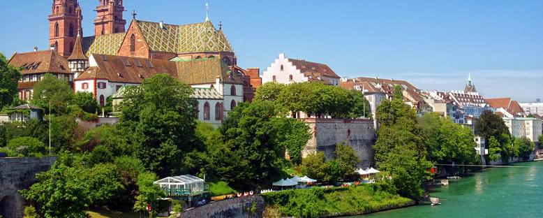 Katedral Manzarası - Basel