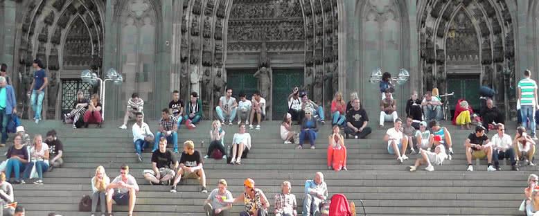 Katedral Merdivenleri - Köln
