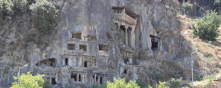 Kaya Mezarları - Fethiye