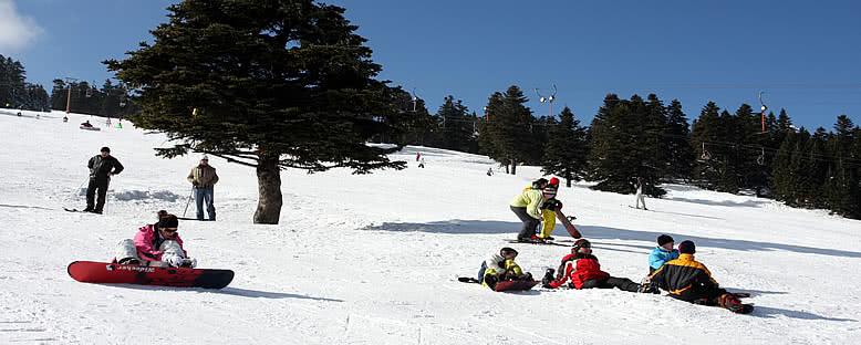 Kayak Öğrencileri - Uludağ