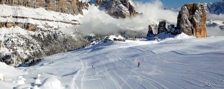 Kayak Pistleri - Cortina d'Ampezzo