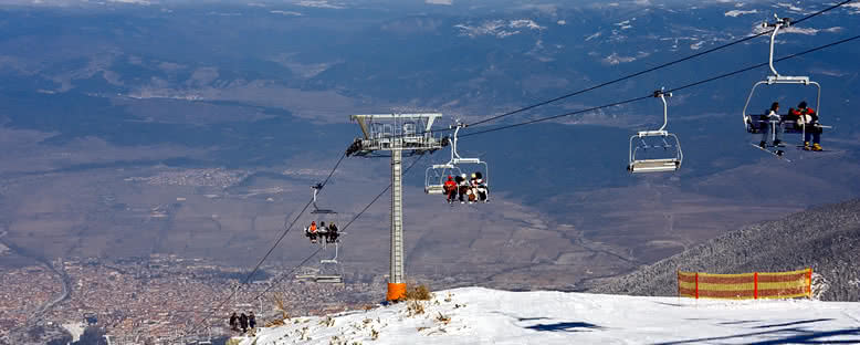 Kayak Telesiyejleri - Bansko