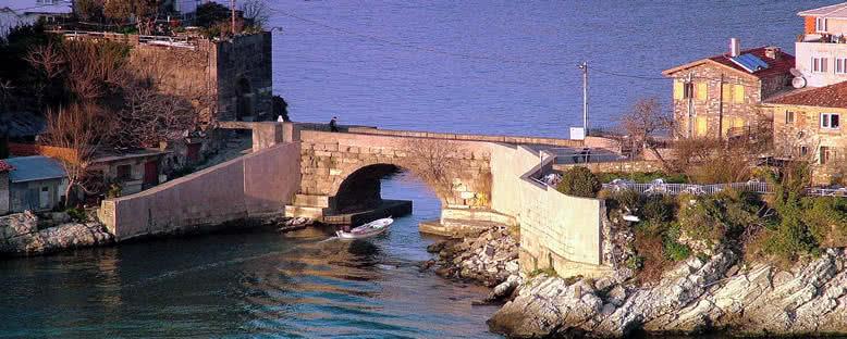 Kemere Köprüsü'nde Gün Batımı - Amasra