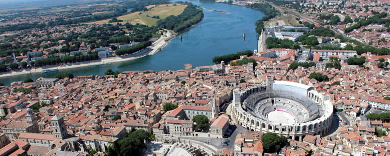 Kent Manzarası - Arles