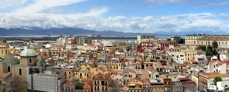 Kent Manzarası - Cagliari