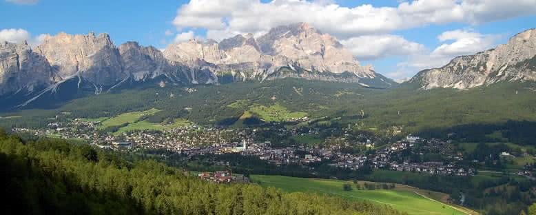 Kent Manzarası - Cortina d'Ampezzo