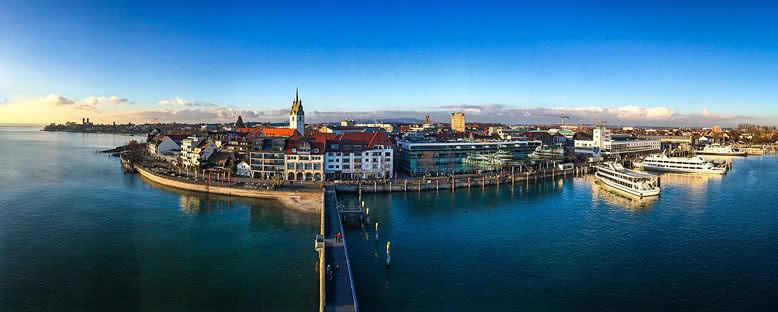 Kent Manzarası - Friedrichshafen
