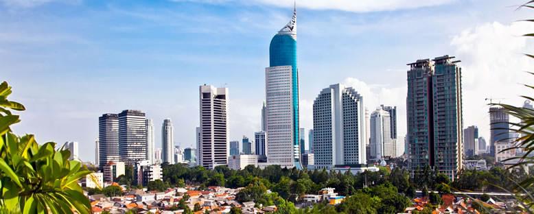 Kent Manzarası - Jakarta