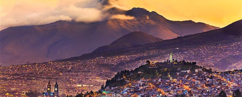 Kent Manzarası - Quito
