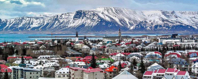 Kent Manzarası - Reykjavik