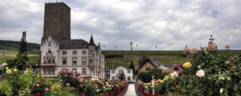 Kent Manzarası - Rüdesheim