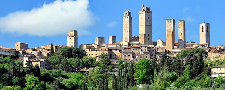 Kent Manzarası - San Gimignano