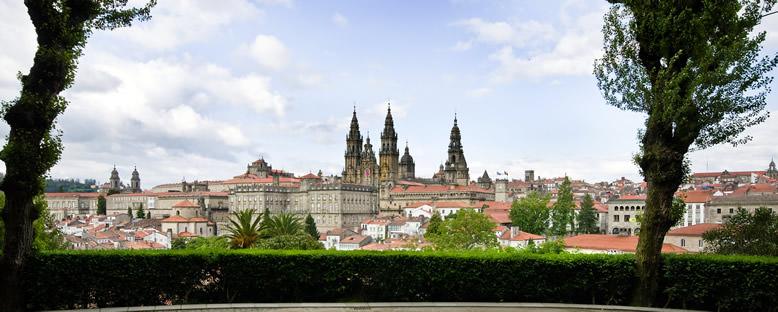 Kent Manzarası - Santiago de Compostela