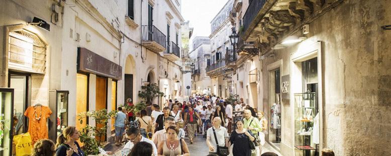 Kent Sokakları - Lecce