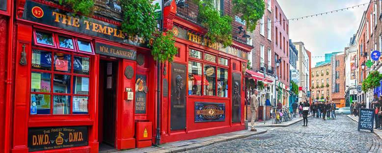Kent Sokakları ve Temple Bar - Dublin