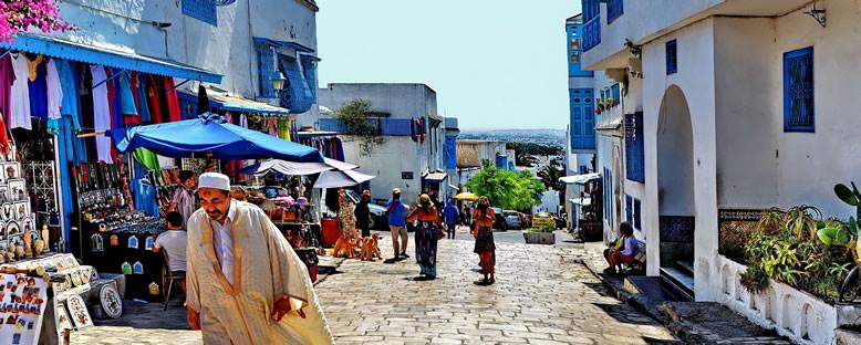 Kent Sokakları - Tunus