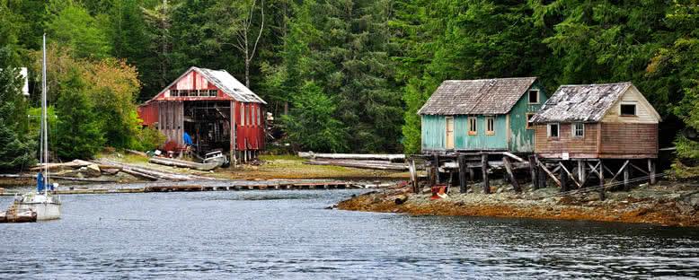 Ketchikan Balıkçı Evleri - Alaska