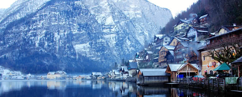 Kış Manzarası - Hallstatt