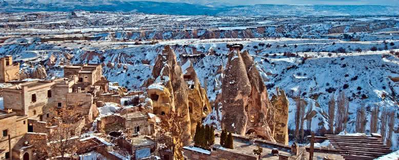 Kış Manzarası - Kapadokya