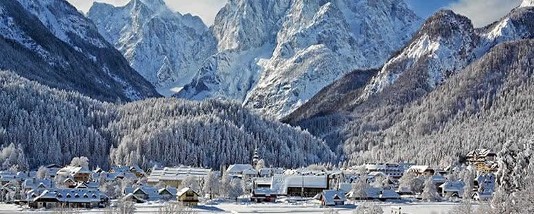 Kış Manzarası - Kranjska Gora