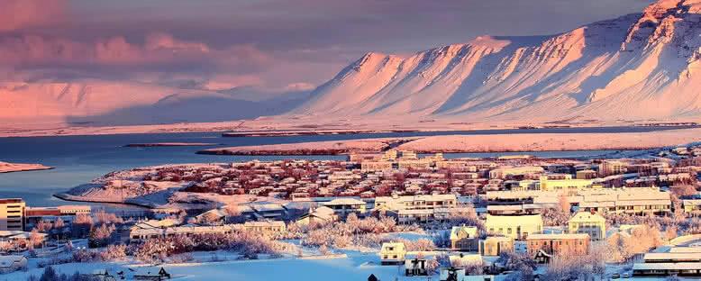 Kış Manzarası - Reykjavik