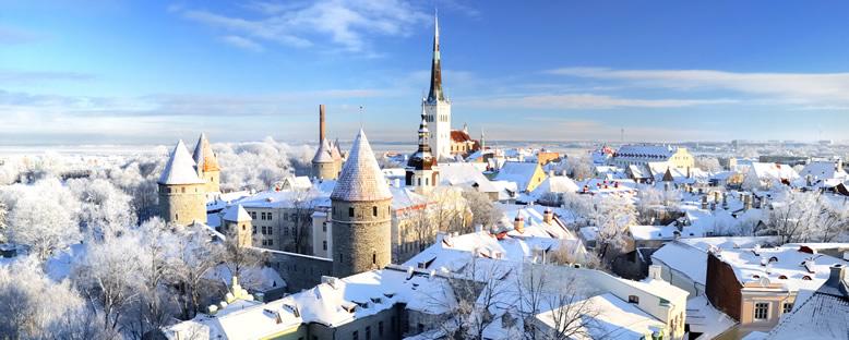 Kış Manzarası - Tallinn
