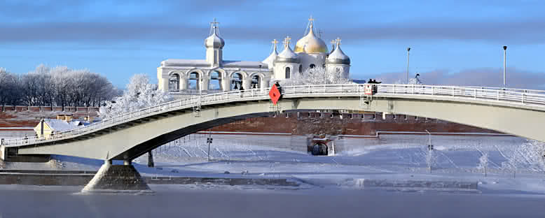 Kış Manzarası - Veliki Novgorod