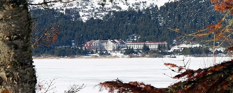 Kışın Abant Gölü - Abant