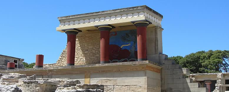 Knossos Sarayı Harabeleri - Girit
