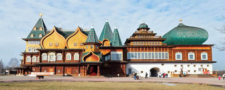 Kolomenskoe Ahşap Sarayı - Moskova
